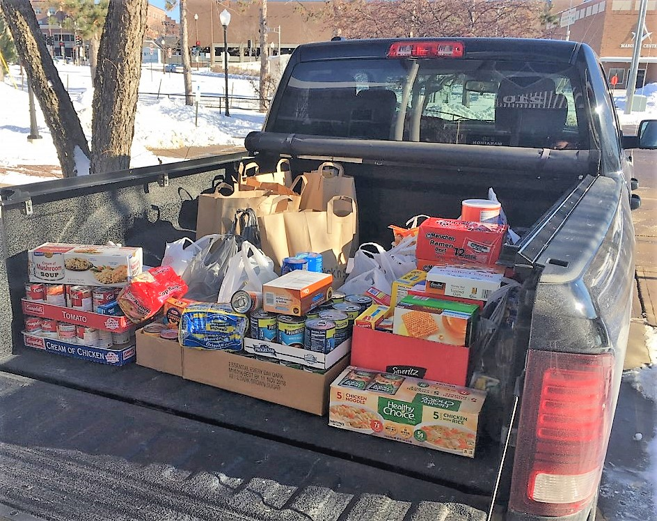 Marathon County CPZ Department Food Drive Results