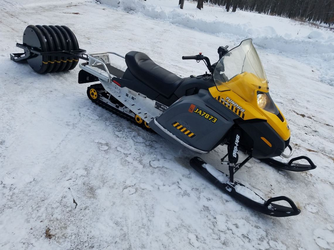 fat bike trail grooming equipment