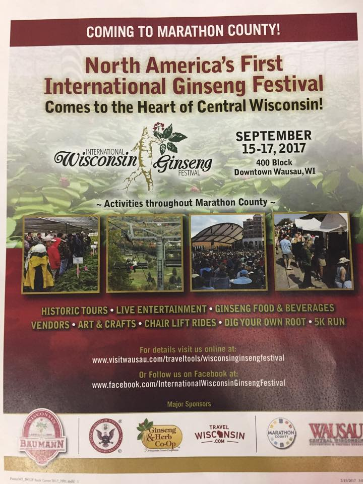 International Ginseng Festival flyer