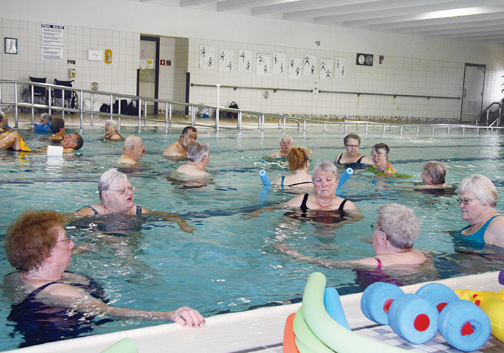 NCHC Water Therapy Class