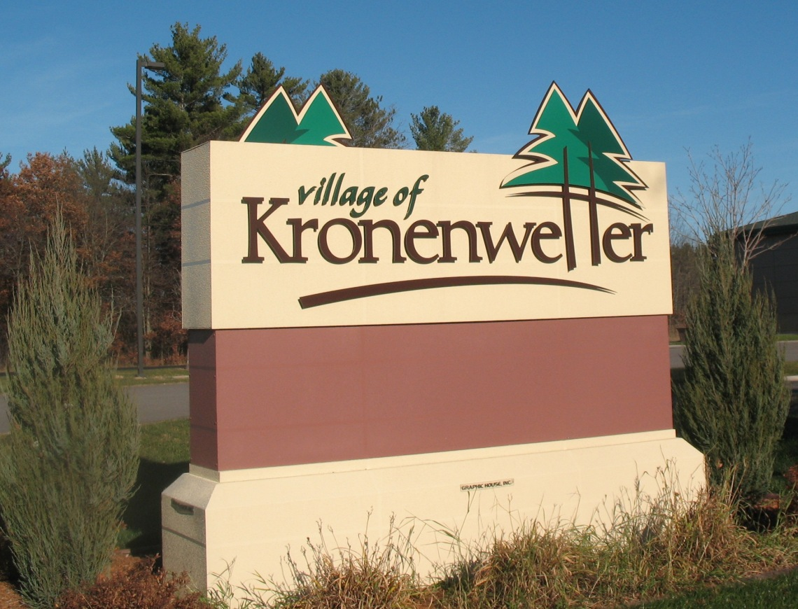 Village_of_Kronenwetter_Sign