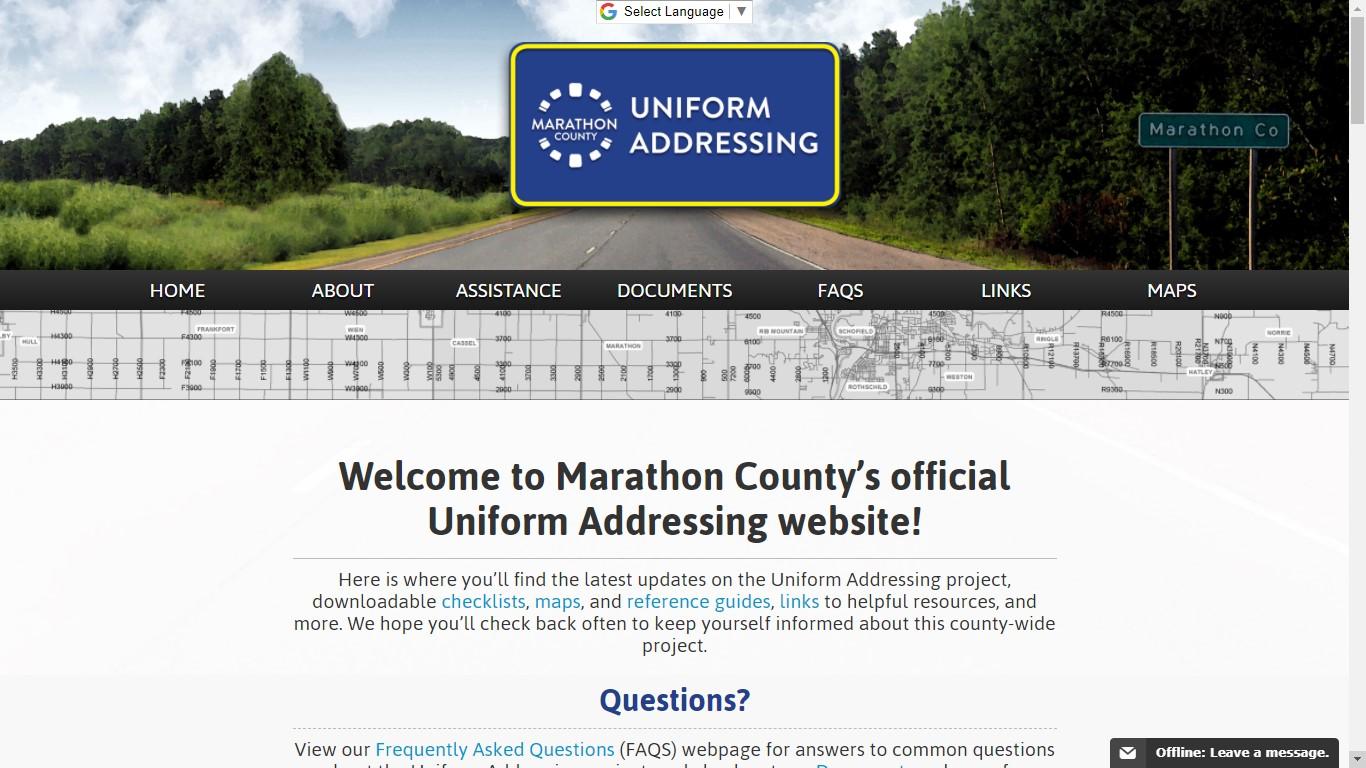 marathon county municipal court citation records