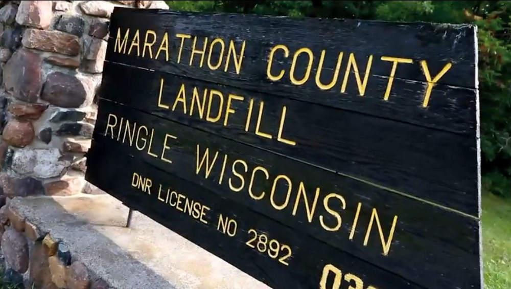 MarathonCountyLandfill_sign