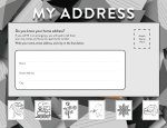 My Address - Practice Worksheet