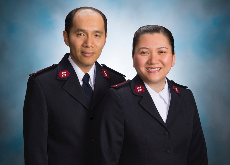 Lts._Vatthana_and_Donna_Thammavongsa - Salvation Army