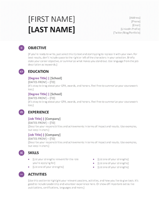 Word_Resume_Template