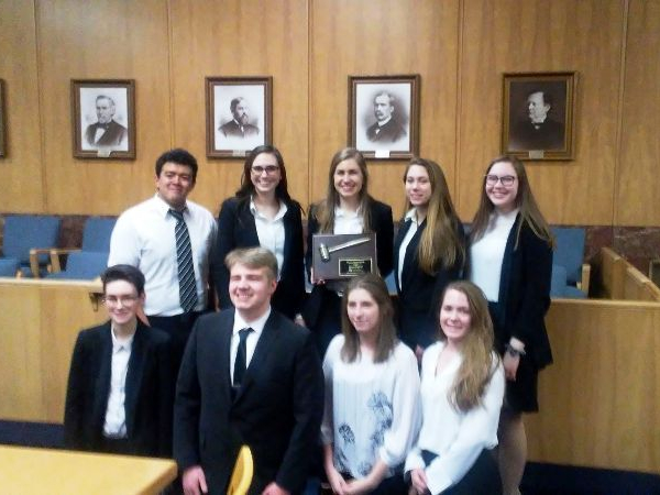 2019 DCE Mock Trial Team