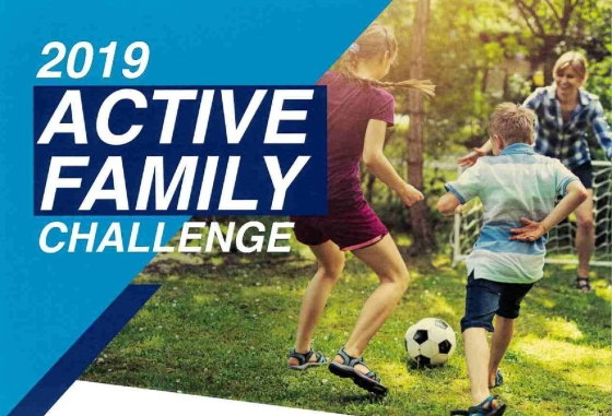 "Sign Up for Marathon County's 2019 ""Active Family Challenge"""