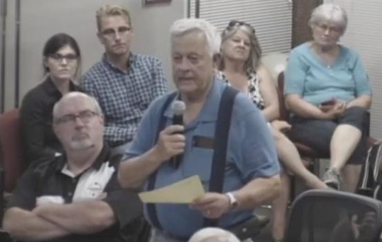 Marathon County Board Supervisor Gary Beastrom