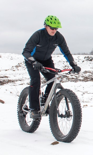 Winter riding on Ringle Trail