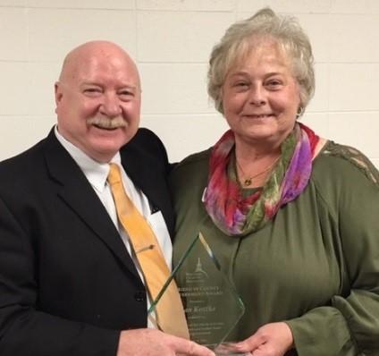 Nan Kottke - Friend in County Government Award