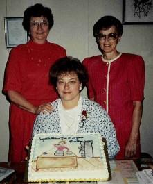 Nan Kottke celebrating 20 years of service