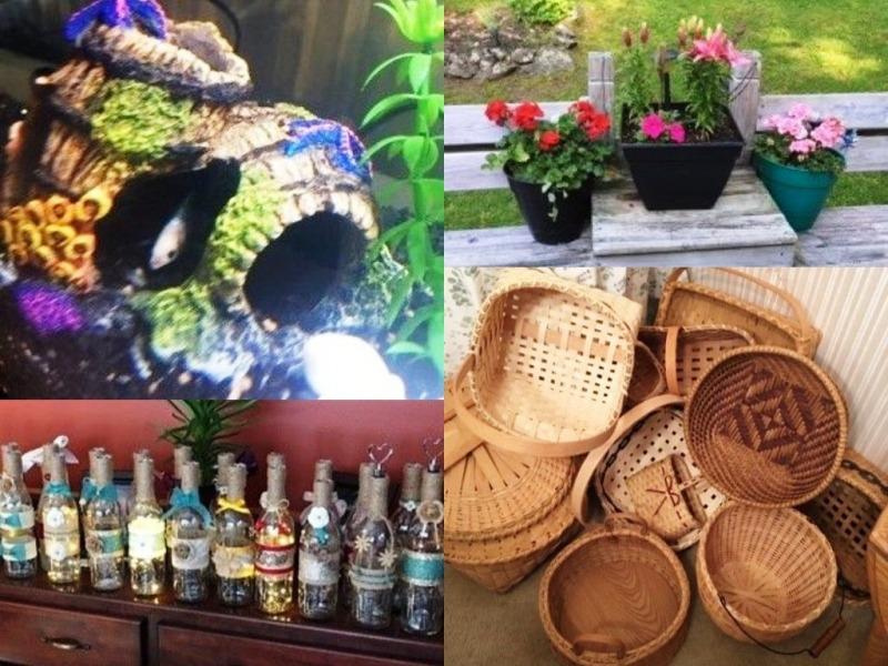 Nan's Hobbies - collage