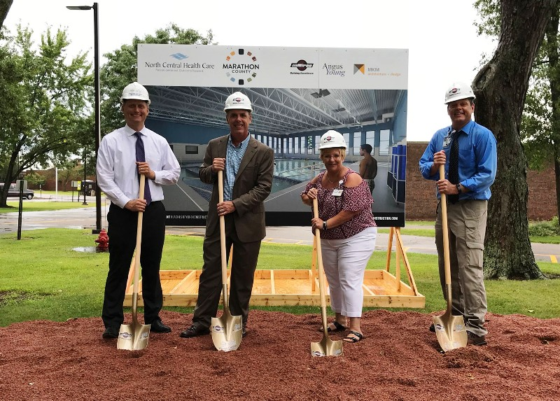 NCHC-Groundbreaking-Ceremony-Aquatic Therapy Pool site