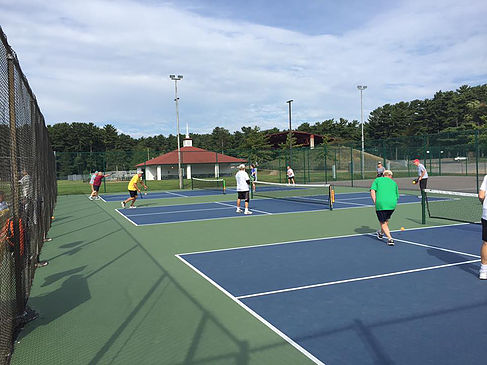 Pickleball at Marathon Park