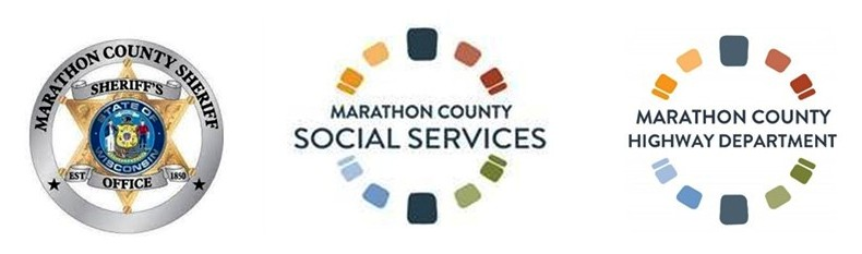 Trio_of_Marathon_County_logos