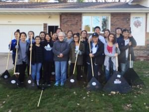 Make a Difference Day - Volunteer Group Photo