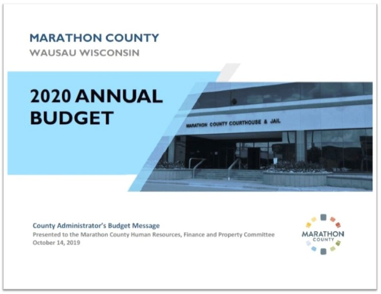 2019 Budget Message-cover