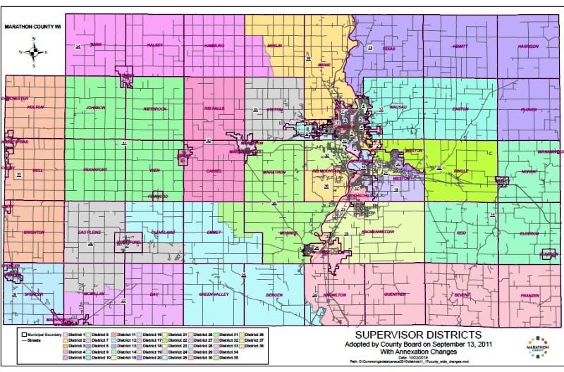 County Board map