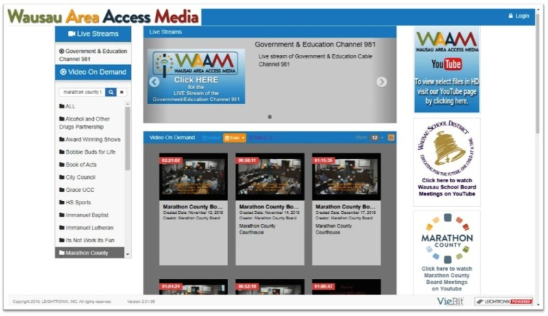 County Board Meeting - YouTube - screenshot