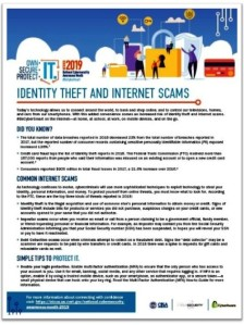 Identity theft & internet scams