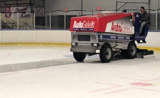 Zamboni-side view