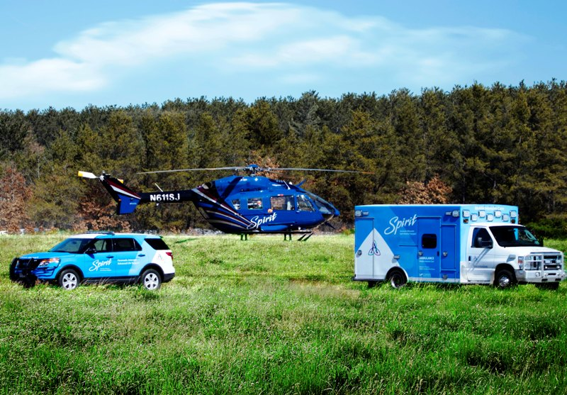 Ascention WI Spirit Helicopter, Ambulance, SUV - 2019