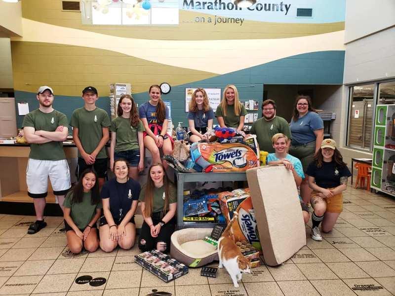 Briqs Donation to Humane Society of Marathon County