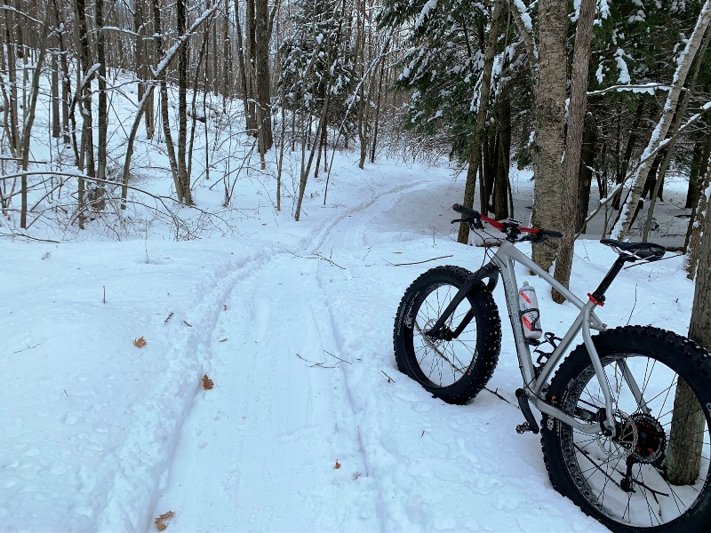 Fat Bike on the Ringle Trail