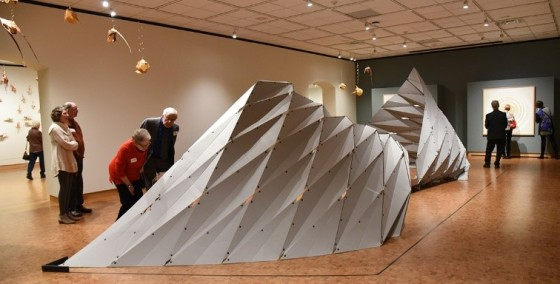 Origami exhibition at LYWAM