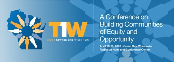 Toward One WI - 2020 conference logo