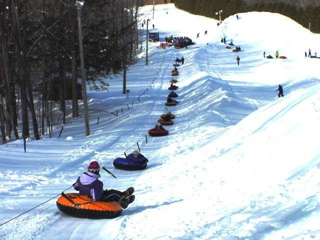 Tubing Tow Rope at Sylvan Hill