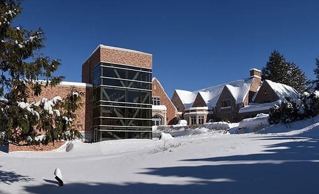 Woodson Art Museum - Outdoor Winter Scene