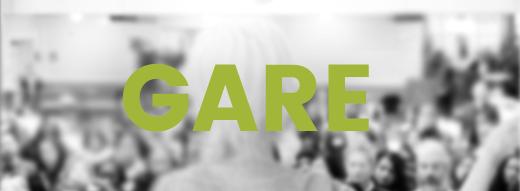 GARE logo