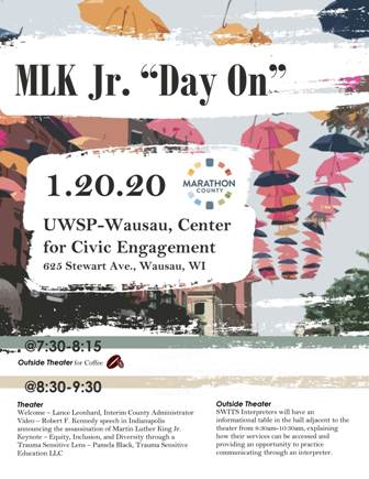 MLK Jr. Day-On Flyer- side 1