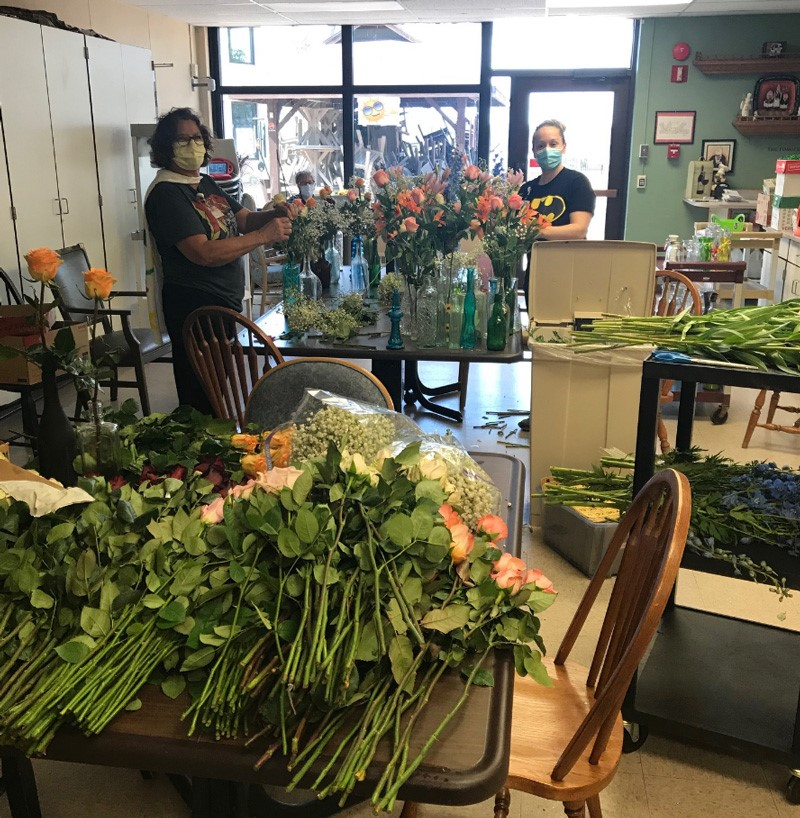 Krueger Floral donations to NCHC