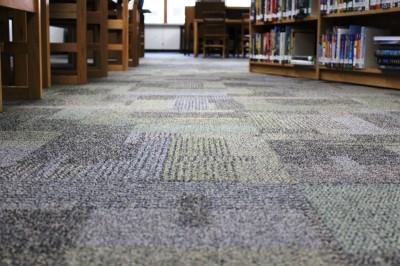 new carpet at MCPL