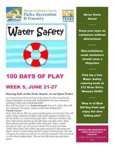 2020 100 Days of Play Week 5 June 21 to 27