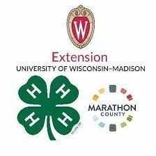 4-H logo - Marathon County - UW Extension