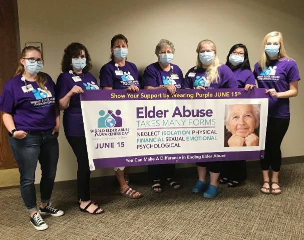 NCHC Workers Honor World Elder Abuse Awareness Day
