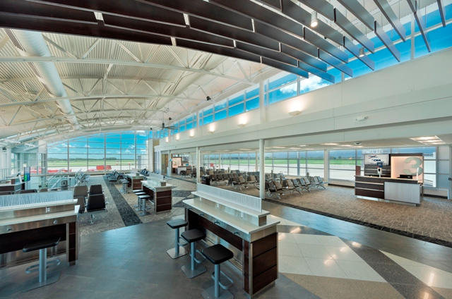 Central Wisconsin Airport - New Concourse