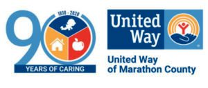 90th-Anniversary-United-Way-of-Marathon-County-logo