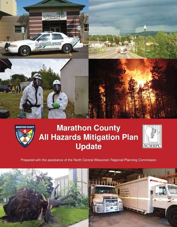 Marathon County All Hazards Mitigation Plan - cover graphic