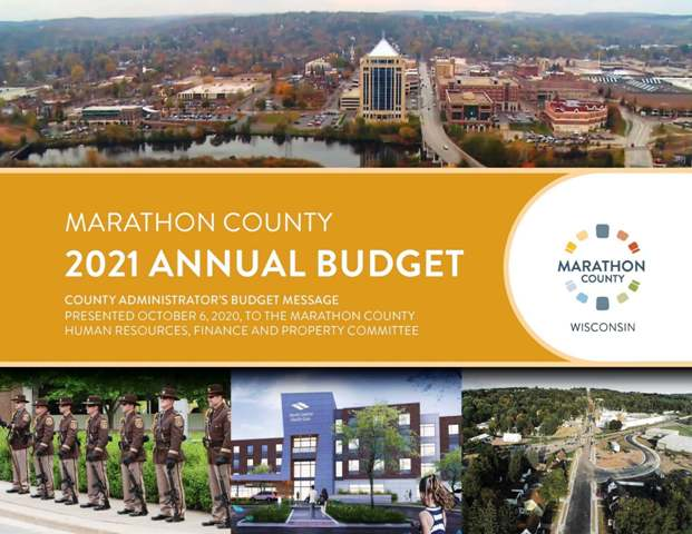 2021 Annual Budget Message - cover