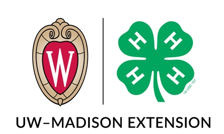 4H and UW-Madison Extension logos