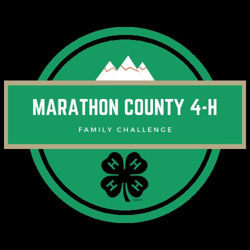 marathon county 4-H Family Challenge logo