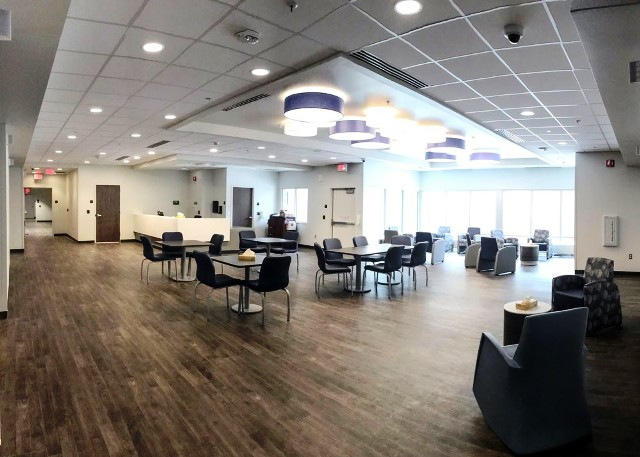 Open Concept Living and Dining Room at Youth Behavioral Health Hospital