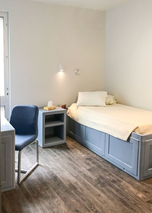 Private Bedroom at NCHC Youth Behavioral Health Hospital