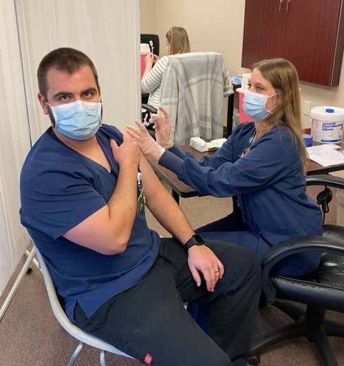 Another NCHC employee gets vaccine