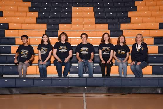 2020-21 Wausau-West-Mock-Trial team